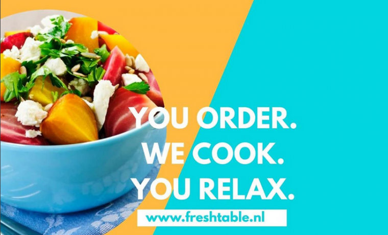 YOU ORDER, WE COOK, YOU RELAX