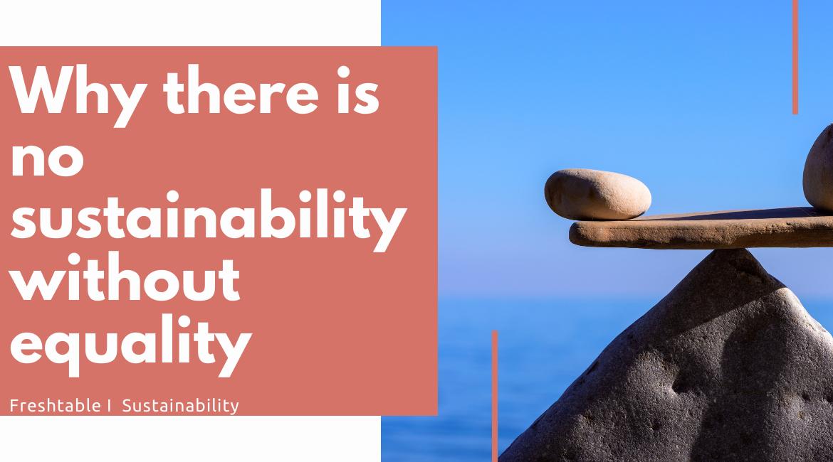 Why there is no sustainability without equality